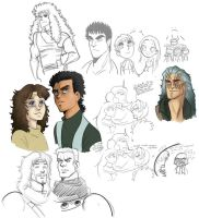 fist of the northstar-doodles3 by spoonybards