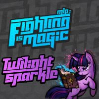 Fighting is Magic Soundtrack Album Art - Twilight by smokeybacon