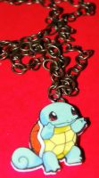 Squirtle Pokemon Necklace by MicheeMee