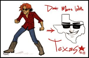 Don't Mess with Texas-RB by Inonibird