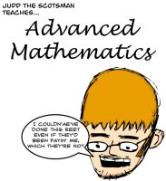 Judd Teaches Advanced Maths by DinCahill