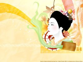 Love of geisha by shuupi