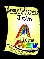 Fight Monochrome: Join Team Rainbow! by fightingleaf