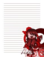 Vampire Notebook Front Page by t0m0y04evr