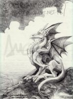 Simple Dragon by AugustAnna