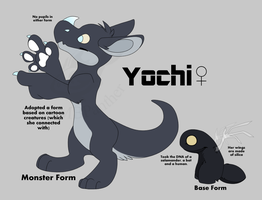 Yochi Refrence by MBPanther