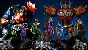 Mighty Morphin' Power Rangers (With Zords)! by Camo-Flauge