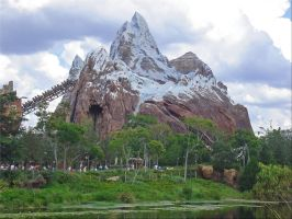 Animal Kingdom Everest Ride by WDWParksGal-Stock