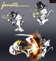 Faust Kitty by XimonR