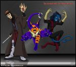 -Don't Mess with these Mutants!- by Silvolf