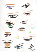 A World of Eyes by the-sinister