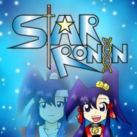 Star Ronin: Logo Mercadillo Azul by NecroCC