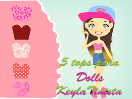 Tops para Dolls by KeylaTinista
