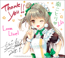 kotori illustbook limited present by Trianon-dfc