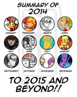 Summary of 2014 - READ DESCRIPTION by SonicWolvelina99