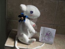 Yuki Sohma rat plush by herra97