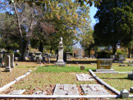 Autumn Cemetery 09 by DKD-Stock