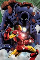 Iron Man Iron Monger Colours by IanDSharman
