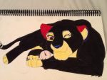 JeromeASF and Pepsi the Panther by TotalyEpicPepsi