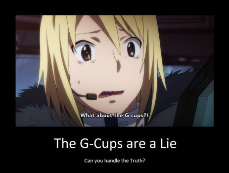 The G-Cups are a Lie by neogoki
