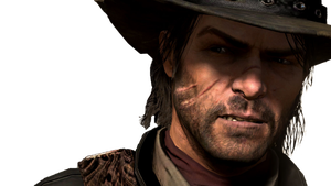 John Marston - Red Dead Redemption Render by Angelus23
