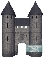 TW3D Castle One by TW3DSTOCK