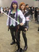 Armageddon Expo 2012 - Highschool of Dead girls by fulldancer-alchemist