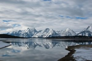 Teton Reflection by melly4260