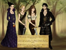 Me and my three favorite OUAT characters by nickelbackloverxoxox
