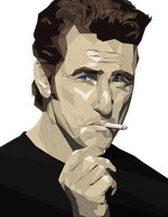 Sean Penn Face Vector Project by ImpersonatingPanda