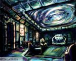 The Slytherin Common Room by mcgray