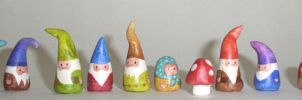 new NOM gnome family by merwing