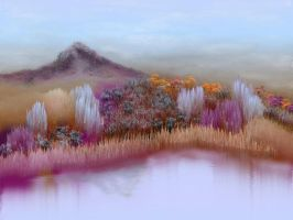 Amethyst mountain.. by teddybearcholla