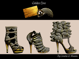 Love for Shoes - Golden by Nellista