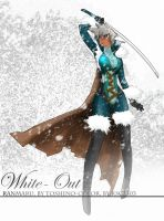White out, Toshino homework by ksc2303