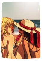 Faberry Let the Summer Begin by patronustrip