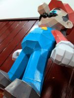 Papercraft - Super Mario 03 by ckry