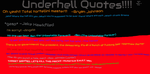 Underhell Quotes Numeral Uno by thefunny711