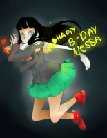 Happy B-Day Nessa by Pepsiboarn