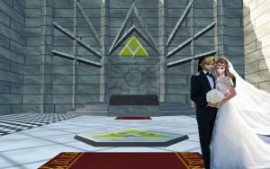 the wedding by Link-of-the-twilight