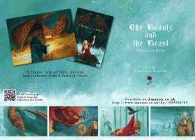 'The Beauty and the Beast' Illustrated Book by FrancescaBaerald
