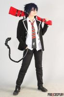 Cosplay Okumura Rin by ProCosplay by Darkwinged-Sasuke