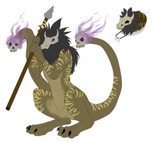 Egg Hatched - Shaman Beast by ShadowInkAdopts