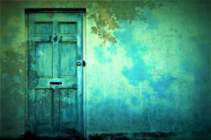 The Blue Door by SHParsons