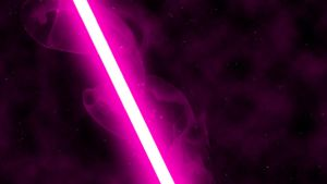 Pink Lightsaber by nerfAvari