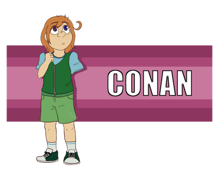 Conan Reference - 2017 by Esiano