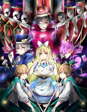 CE: Alice and The Five Untold story by Pinochi