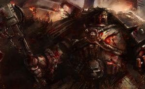 Kharn at Armatura by slaine69