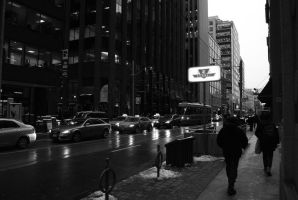 Day 13: A Grey Day Downtown by WoodsOfOntario