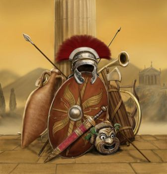 Roman Stuff by dashinvaine